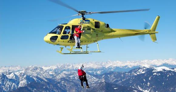 Escursionista ferito soccorso sul monte Camicia