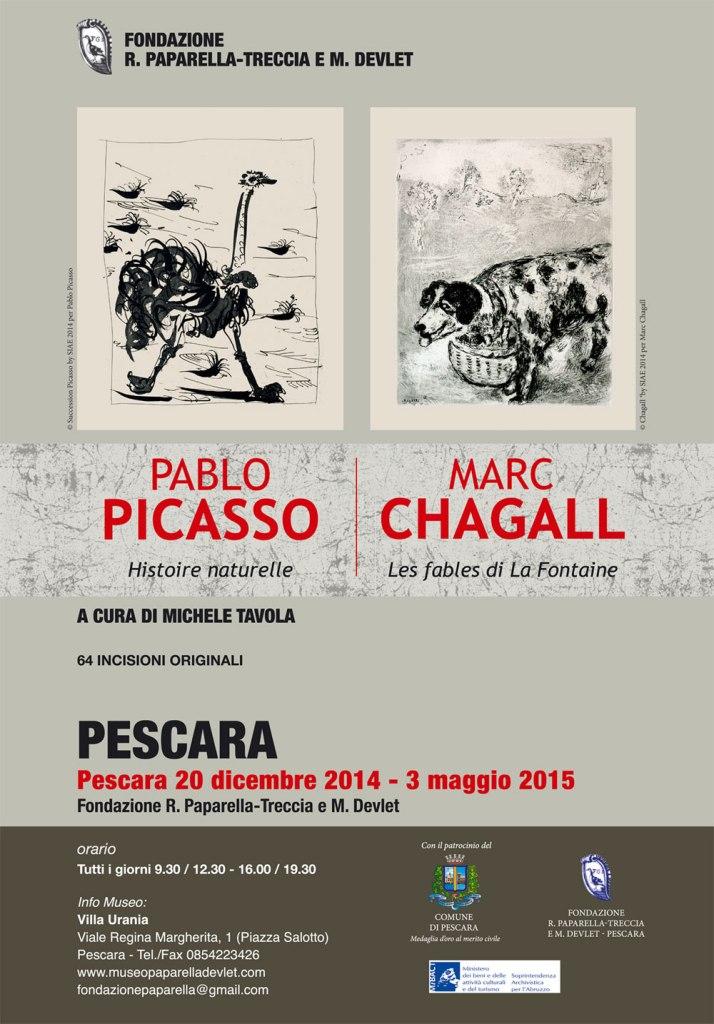 manifesto picasso chagall sito
