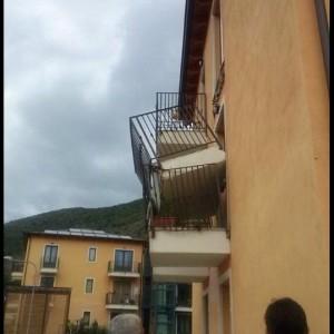crollo balcone aq