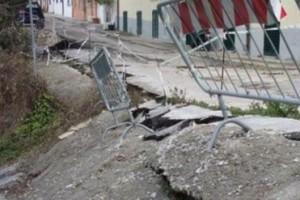 Chieti: frana cantiere a Santa Maria Calvona