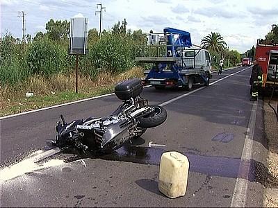 Cupello: Cade dalla moto, muore dopo 13 giorni
