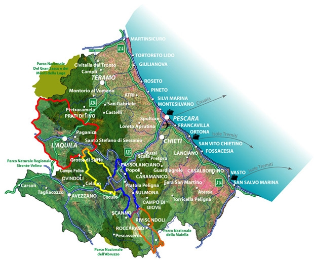 Cartina Abruzzo Molise Mare.Altra Scossa In Mare Stavolta Tra Abruzzo E Molise Rete8