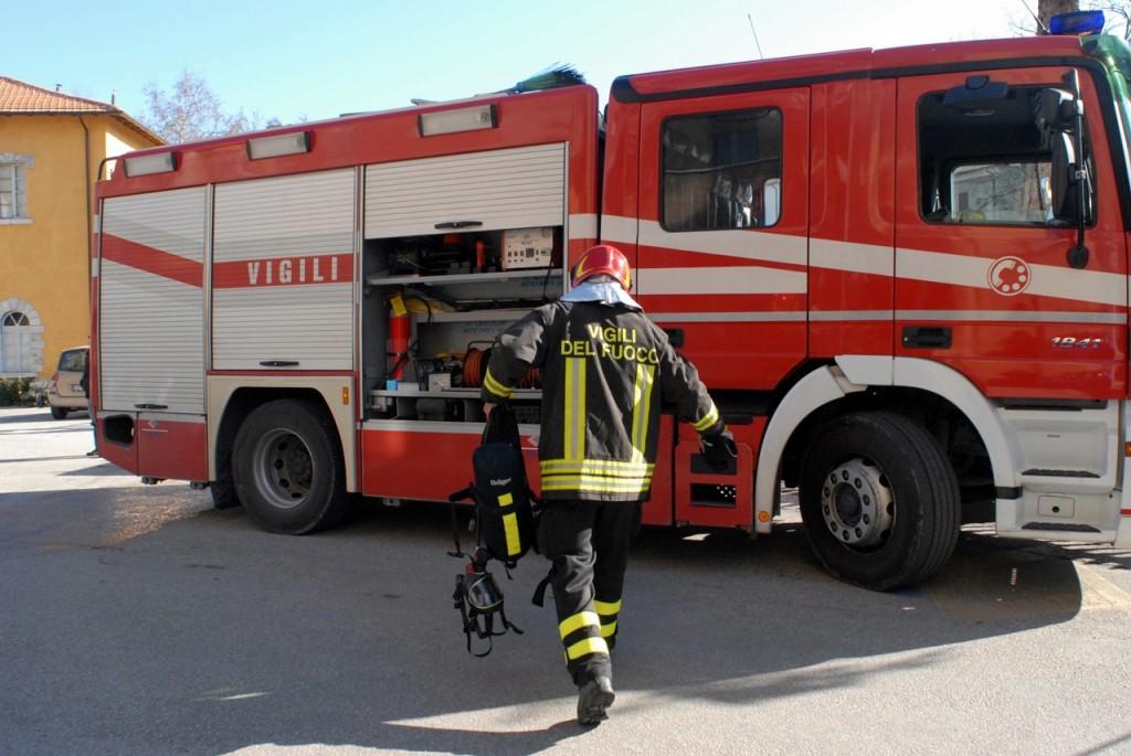 Isernia, a fuoco spogliatoi Stadio 'Lancellotta'