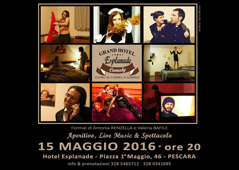 Pescara: Grand Hotel Esplanade, il teatro in albergo.