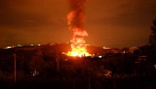 Incendio-discarica-colle-marcone