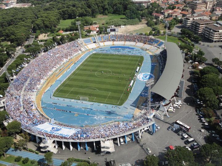 Stadio di Pescara: Subito l'affido, poi forse vendita