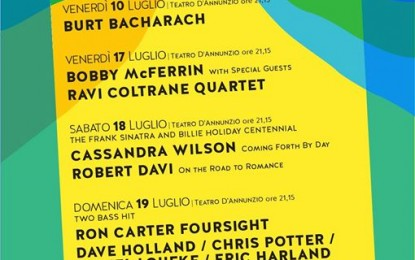 Pescara Jazz 2015 :  Wilson e Davi al d'Annunzio