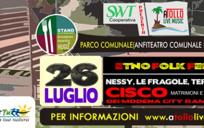 Domenica Cisco all' A-Tollo Music Festival