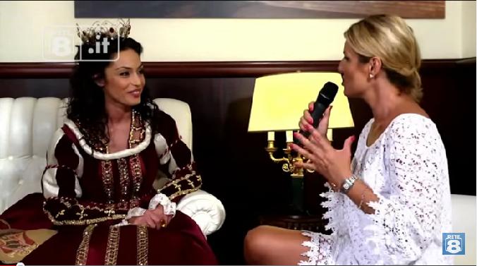 Raffaella Fico a Sulmona: Intervista