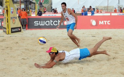 Beach volley europei –  Paolo Nicolai difende il titolo