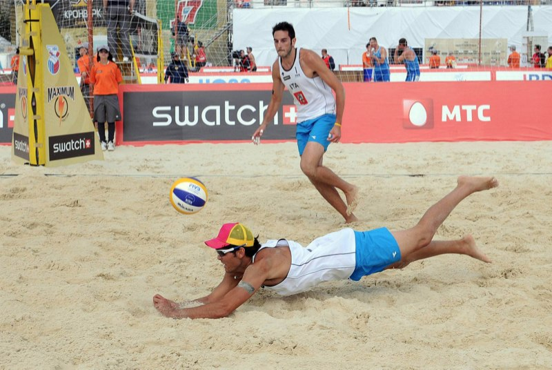 Europeo Beach Volley – Nicolai in finale