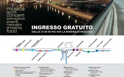 Pescara: la Notte Bianca del Mediterraneo su Rete 8