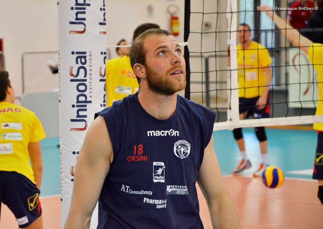 Volley: Orsini ancora con la Sieco Service Impavida Ortona