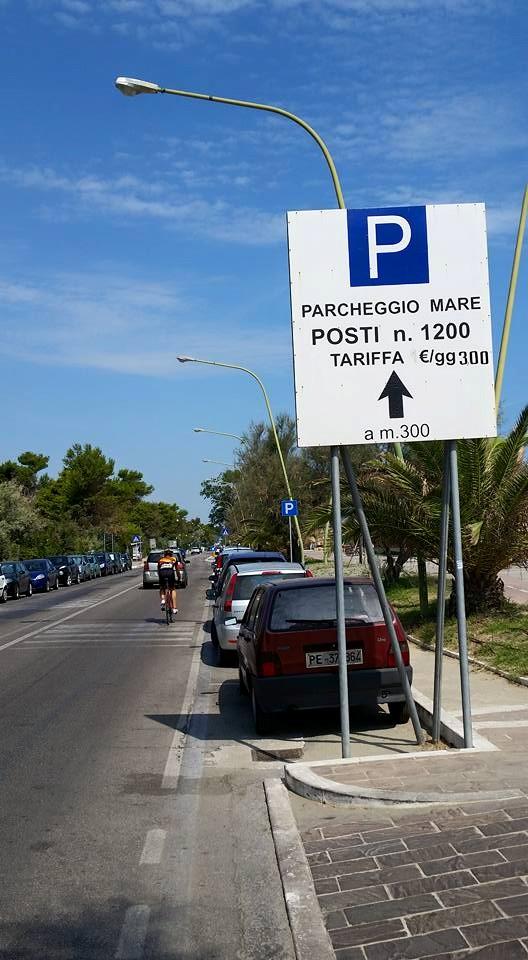Parcheggi Pescara: aperti 1200 posti al Parco Nord