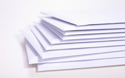 Pescara: 30 mila euro in meno di posta cartacea