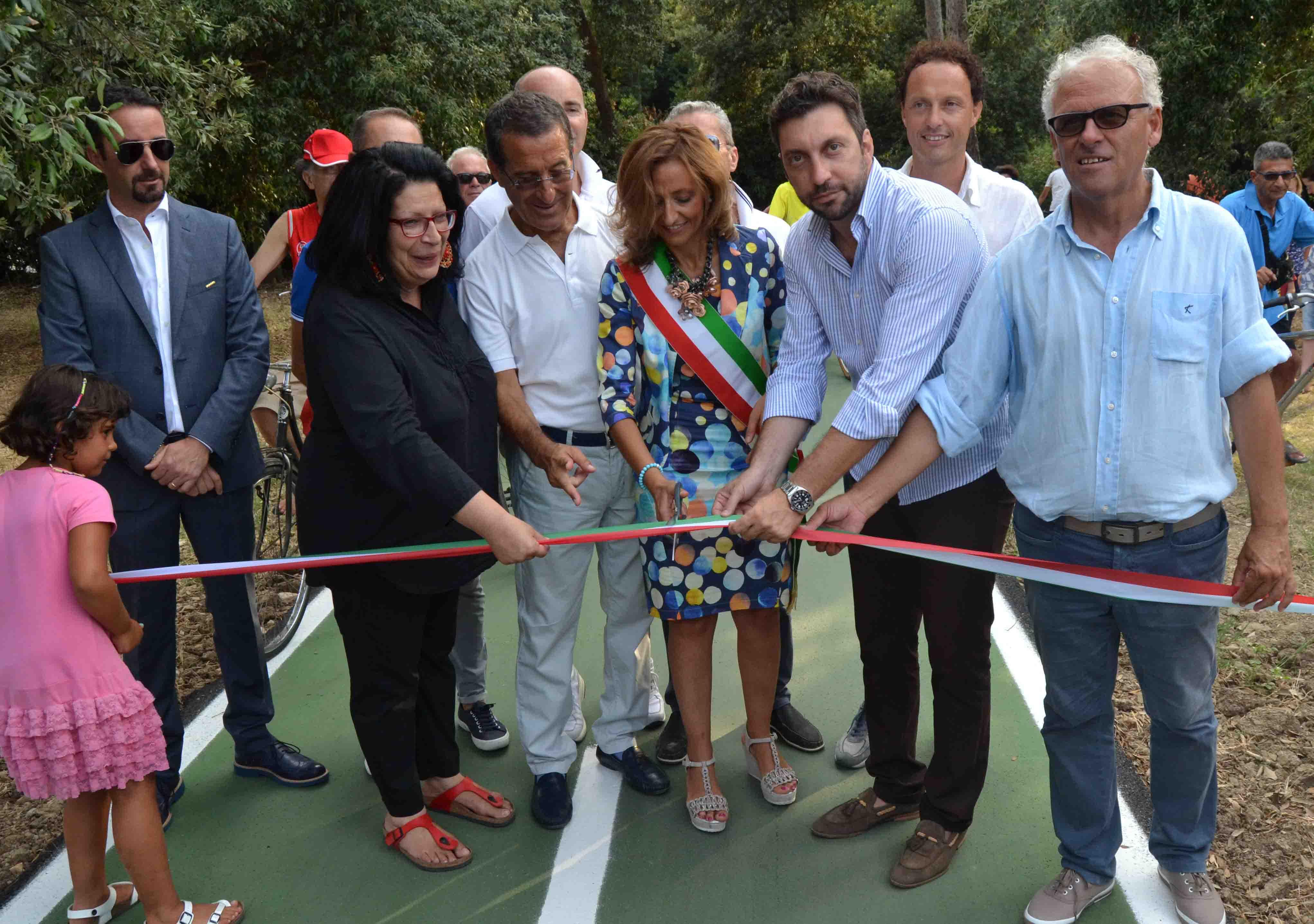 Inaugurata la pista ciclabile di San Salvo