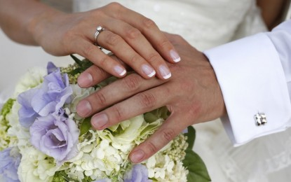 L'Aquila: Simone ed Elena primi sposi nella zona rossa