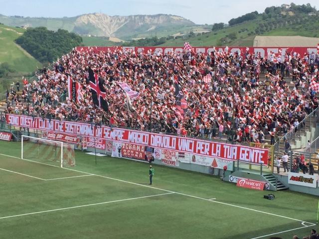 Lega Pro Teramo Carrarese – Live dalle 15