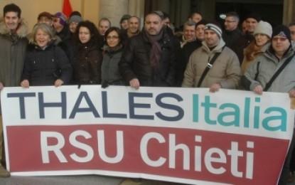 Thales Chieti, confermati i 32 esuberi