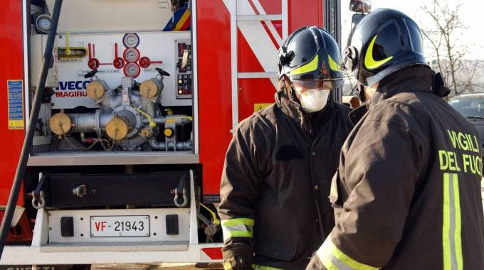 Pescara: In fiamme supermercato ai Colli