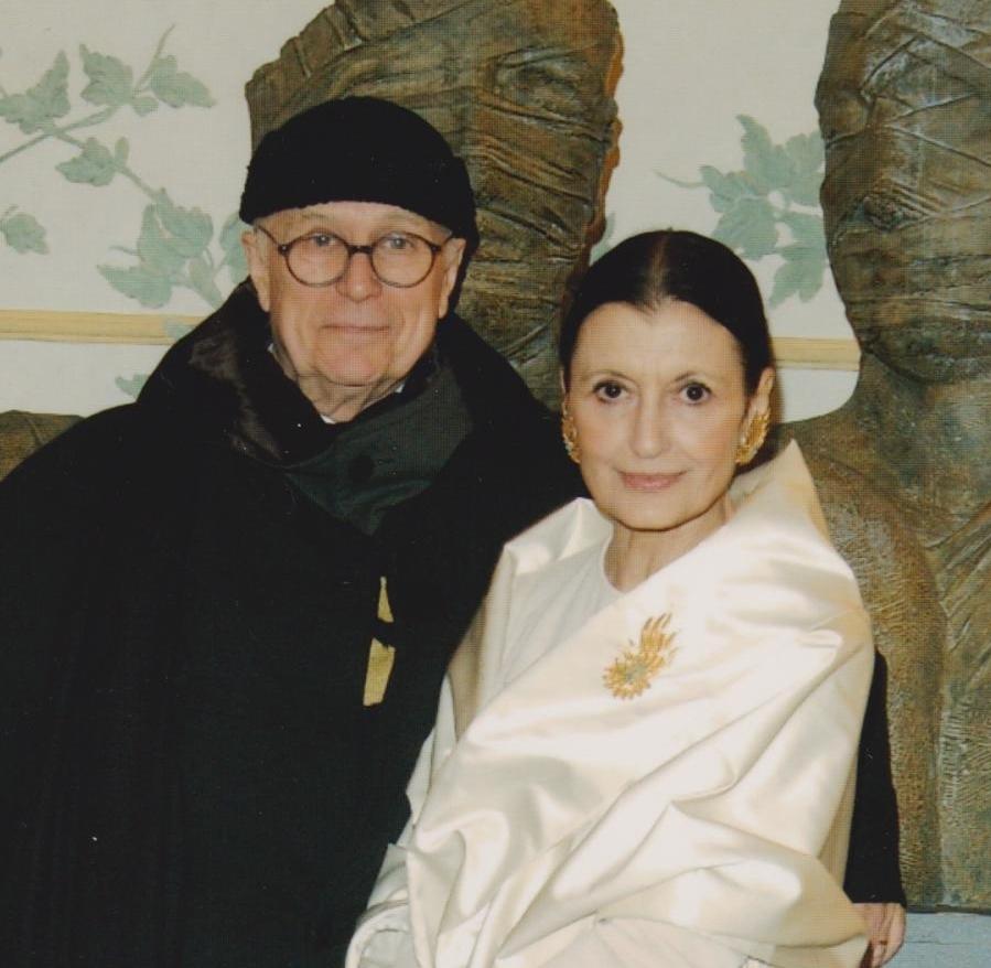 Carla Fracci e Beppe Menegatti. A L'Aquila con i Solisti