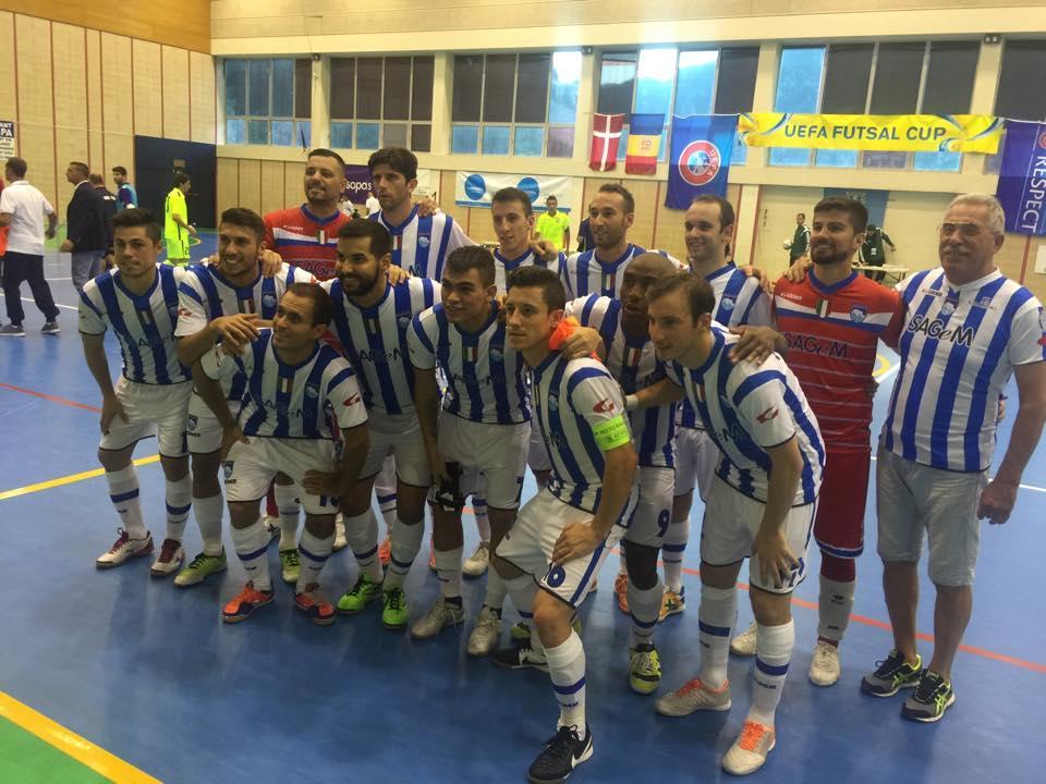 Uefa Futsal Cup: il Pescara travolge i maltesi del Luxol