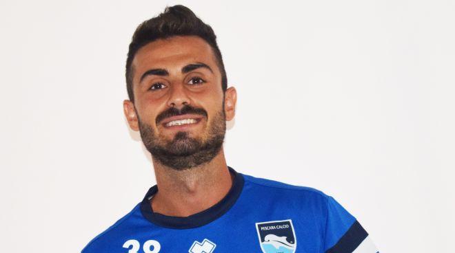 Pescara calcio, nuova squadra per Scrugli