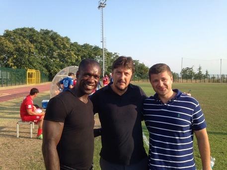 Pescara calcio, seduta davanti ad un mito
