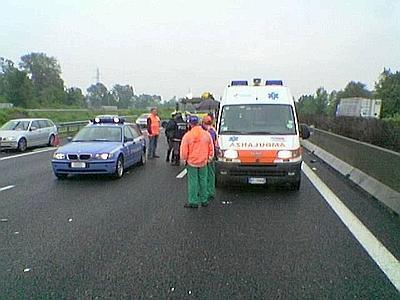 Incidente sulla A25 in marsica: un morto e 2 feriti