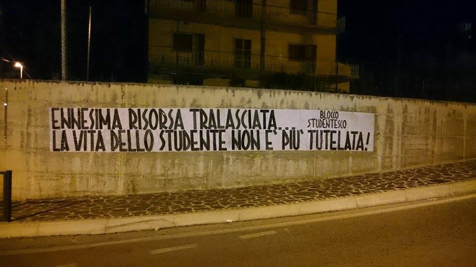 Chieti- Non si placa la protesta degli universitari sfrattati