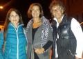 Laura Boldrini in vacanza a Pescocostanzo