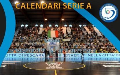 Calcio a 5 – Diramati i calendari in serie A (M e F)