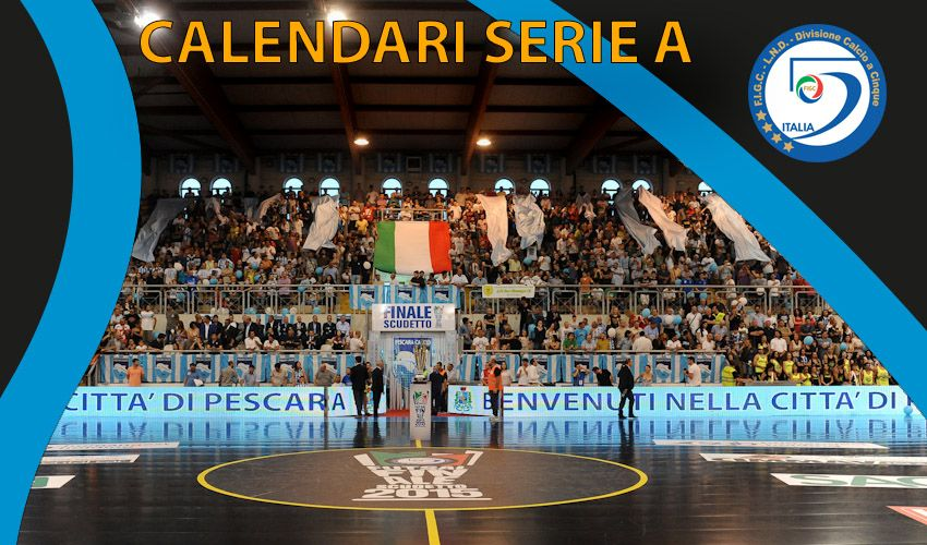 Calcio a 5 – Diramati i calendari in serie A (M e F)