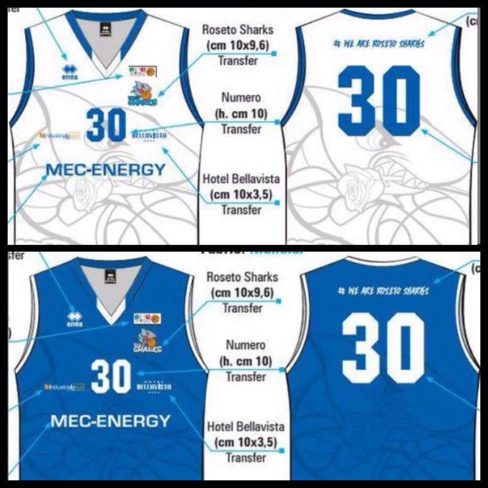 Basket – Roseto: scelta dai tifosi la nuova divisa