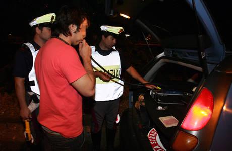 Alcol alla guida: a Francavilla ritirate 6 patenti