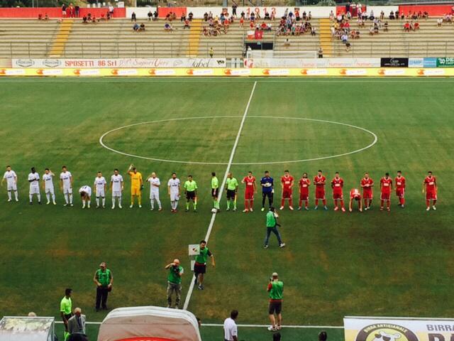 Tim Cup, Teramo eliminato dal Cittadella
