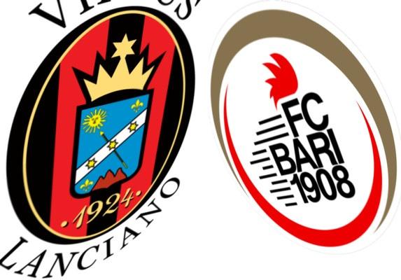 Lanciano-Bari, squadre in campo