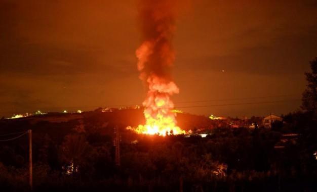 Incendio discarica Chieti: per l'Arta valori nei limiti
