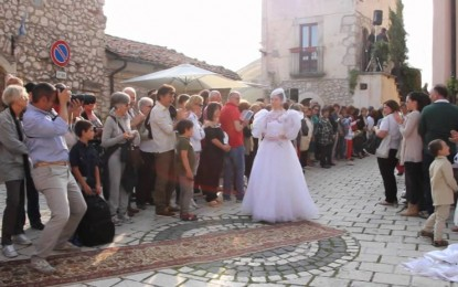 A Santo Stefano di Sessanio il matrimonio di una volta