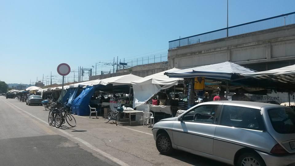 Pescara, esposto di FN su mercato etnico abusivo