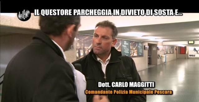 "Pescara, sospesi i vigili intervistati dalle ""Iene"""