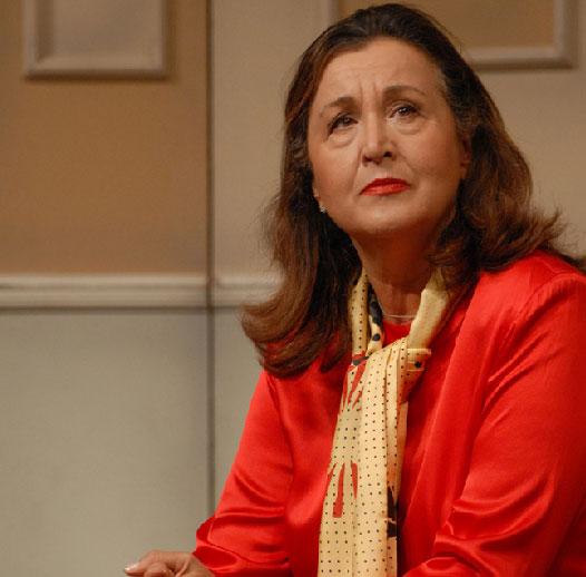 Paola Gassman a L'Aquila, recital per la Perdonanza