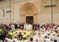 Perdonanza: oggi Corteo, si apre Porta Santa. Diretta Rete8