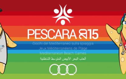 Pescara si prepara ai giochi del Mediterraneo in spiaggia