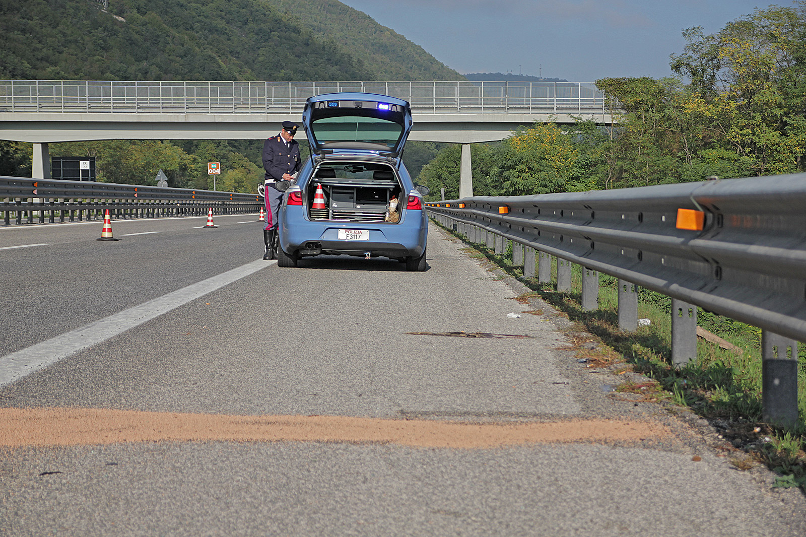 Incidente sulla A25 – Aggiornamento: due le vittime
