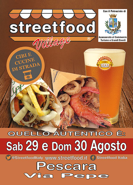Pescara: Street Food Village a Portanuova