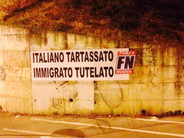 Mercato etnico, blitz di Forza Nuova a Pescara