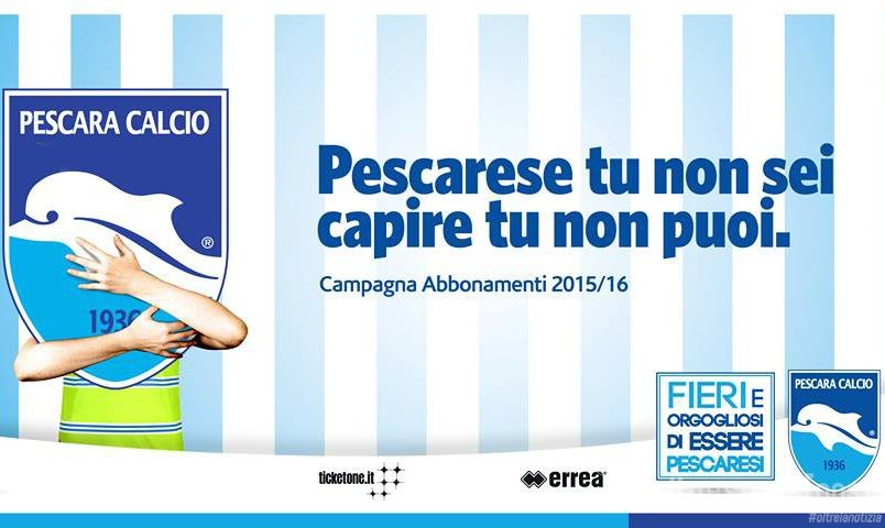 Pescara calcio: info campagna abbonamenti