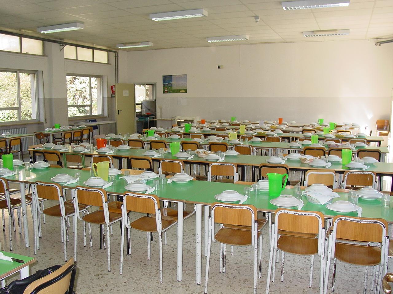 Sulmona: stop alle mense scolastiche