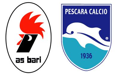 Pescara calcio. Così in campo a Bari. Probabili 11